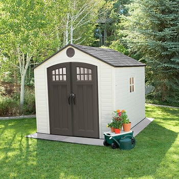 Lifetime 8' x 10' Front Entry Shed $849.99 @ BJ's Wholesale (In-Club Only)