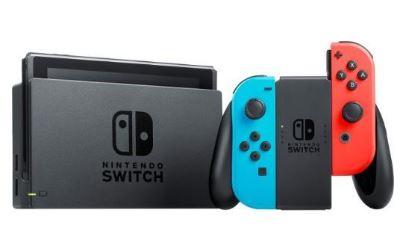 Nintendo Switch Console Neon $269.99