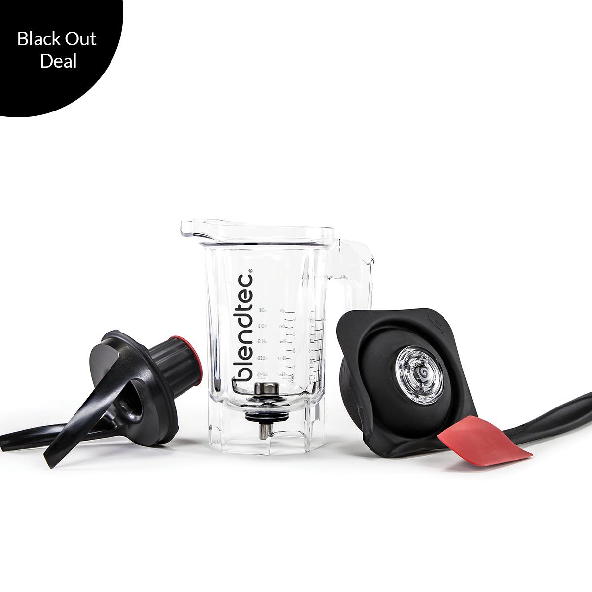 Blender Twister Jar   Blendtec $86  -  BLACK OUT DEAL!