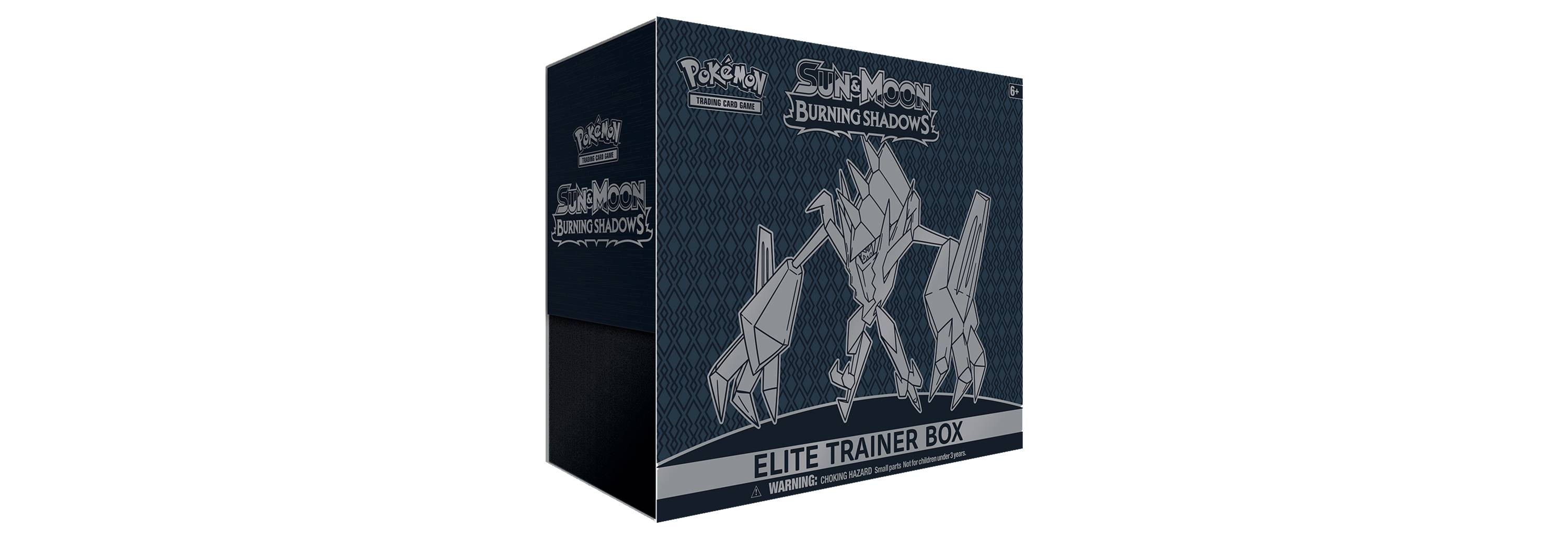 Pokemon Sun Moon Burning Shadows Trading Card Game Elite Trainer Box - $22.49 before tax, free shipping