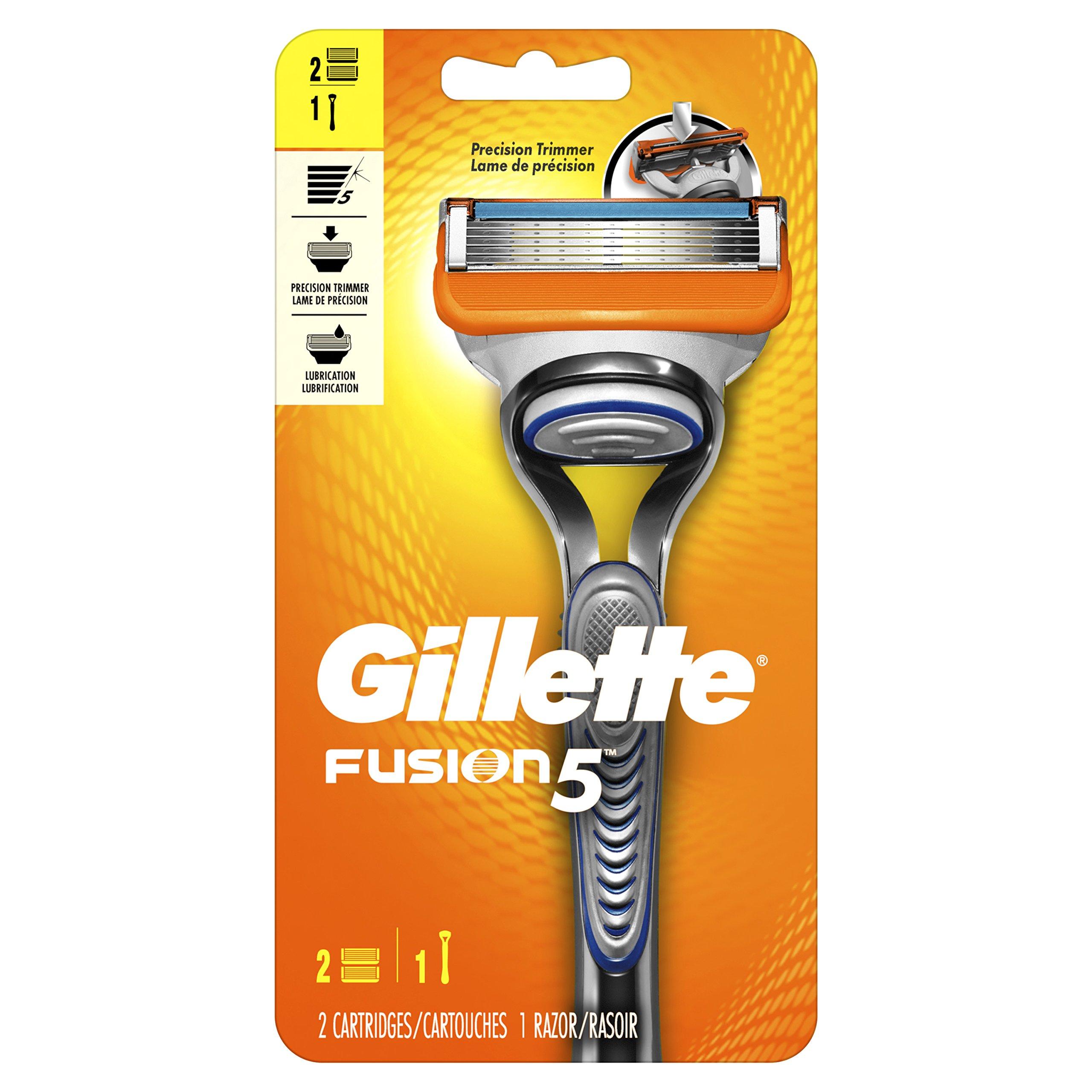 8-Count Gillette Fusion 5 Razor Blade Power Cartridge Refills $10.52 ($1.32 ea) FS Amazon Prime