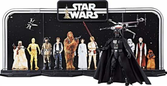 Hasbro - Star Wars The Black Series 40th Anniversary Darth Vader Collectible $9.99