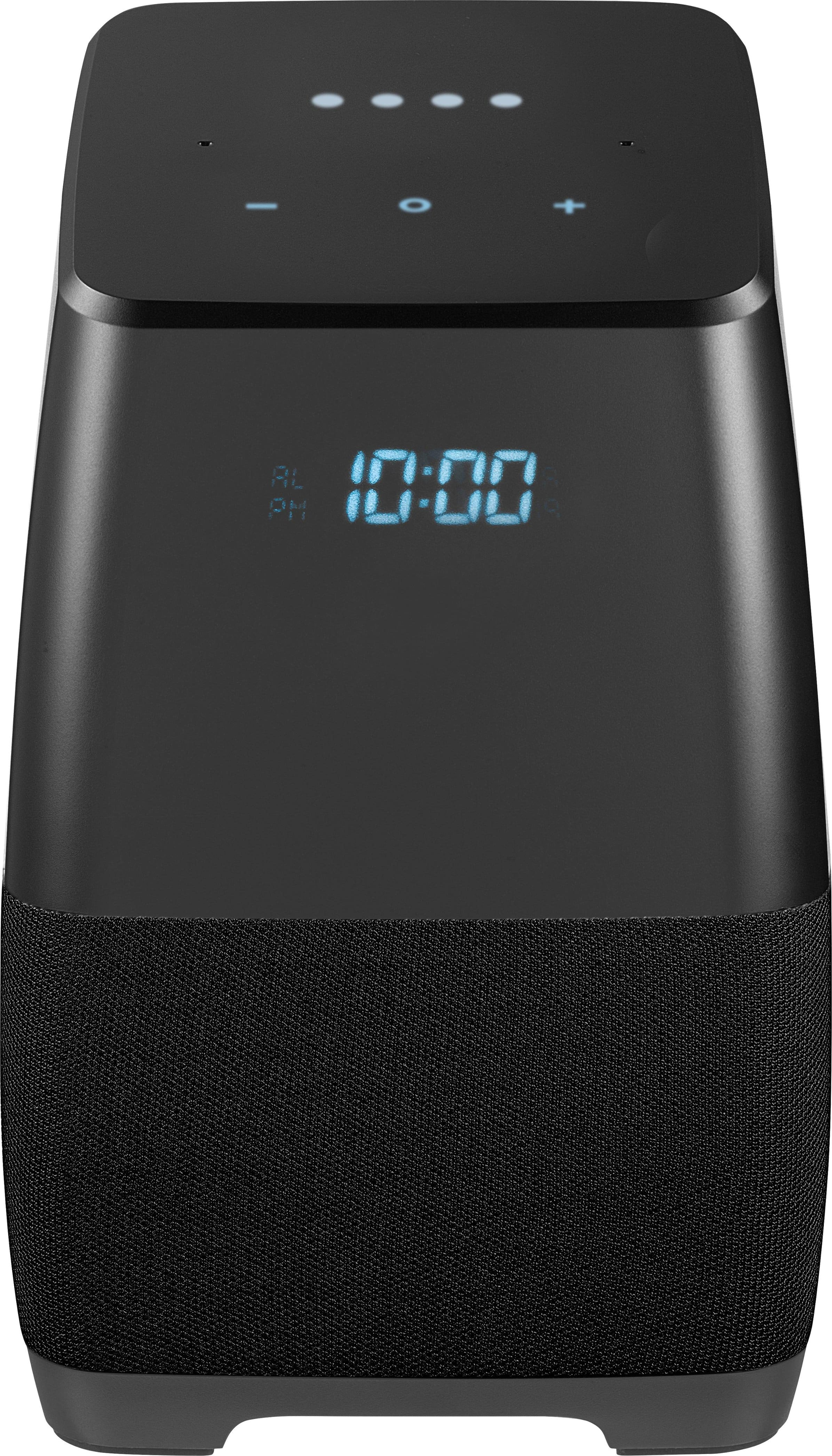 Insignia - Voice Smart Portable Bluetooth Speaker and Alarm Clock with Google Assistant - $30 + fs