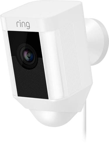 Ring Spotlight Cam Wired White - Best Buy and Home Depot $139.99
