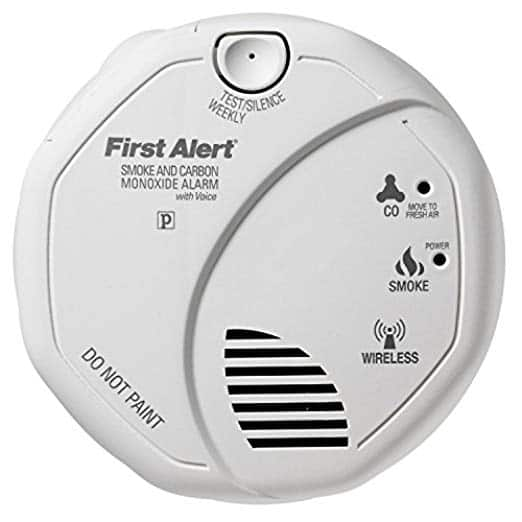 First Alert SCO501CN-3ST Battery Operated Combination Smoke and Carbon Monoxide Alarm with Voice Location $33.74