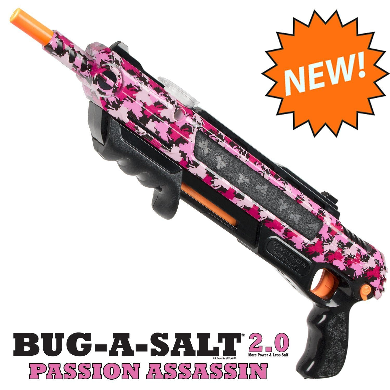 Bug A Salt Pink Camofly 2 0 Insect Eradication Gun Amazon Com