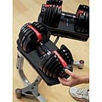 Bowflex SelectTech 552 Adjustable Dumbbell Set - $260 Shipped