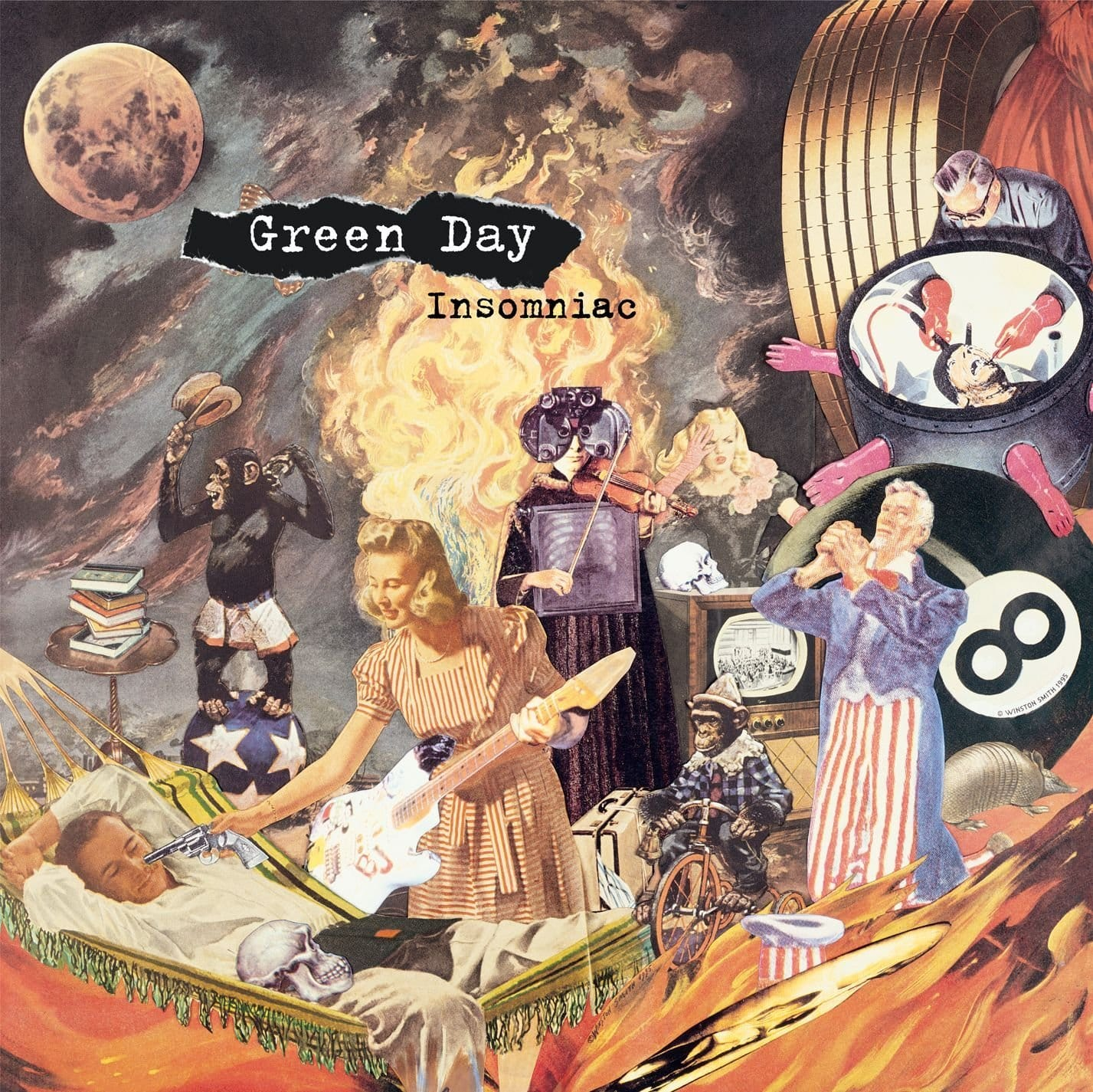 Green Day Vinyl on sale @ Amazon $12 - Insomniac, Dookie, Kerplunk