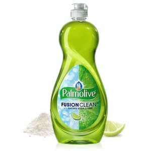 Palmolive Fusion Clean Dish Liquid, Lime, 22 Fluid Ounce (Pack of 12) 70¢-79¢ per bottle with S&S