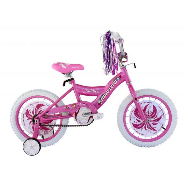 """Micargi 16"""" Kiddy Kids Bike, Pink [pink] $64"""