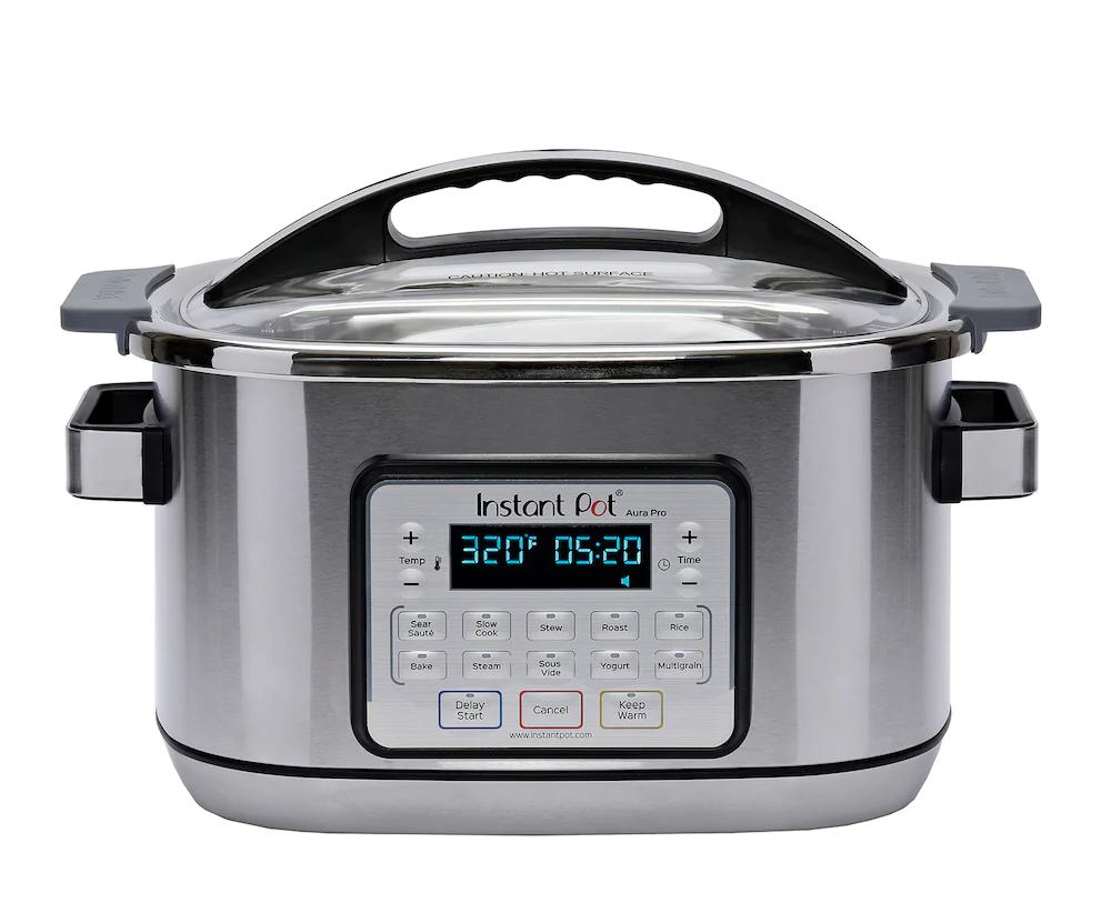 Instant Pot Aura Pro 8-qt. Multicooker $128 + FS + $20 Kohls Cash $127.49