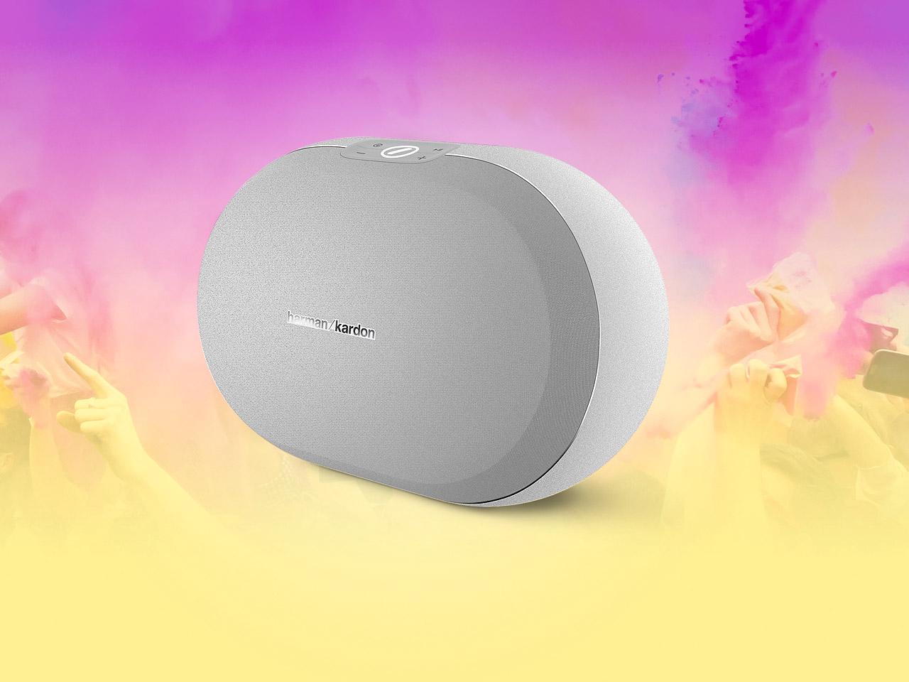 Harman Kardon Omni 20+ Wireless Speaker (white) - $100 with free shipping $99.95