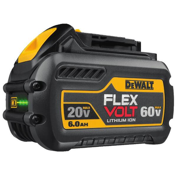 DEWALT - 20V/60V MAX* FLEXVOLT 6.0 Ah Battery DCB606 $89.99 Last Day Hurry $89.98