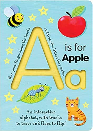 A is for Apple (Smart Kids Trace-And-Flip Board Book) $4