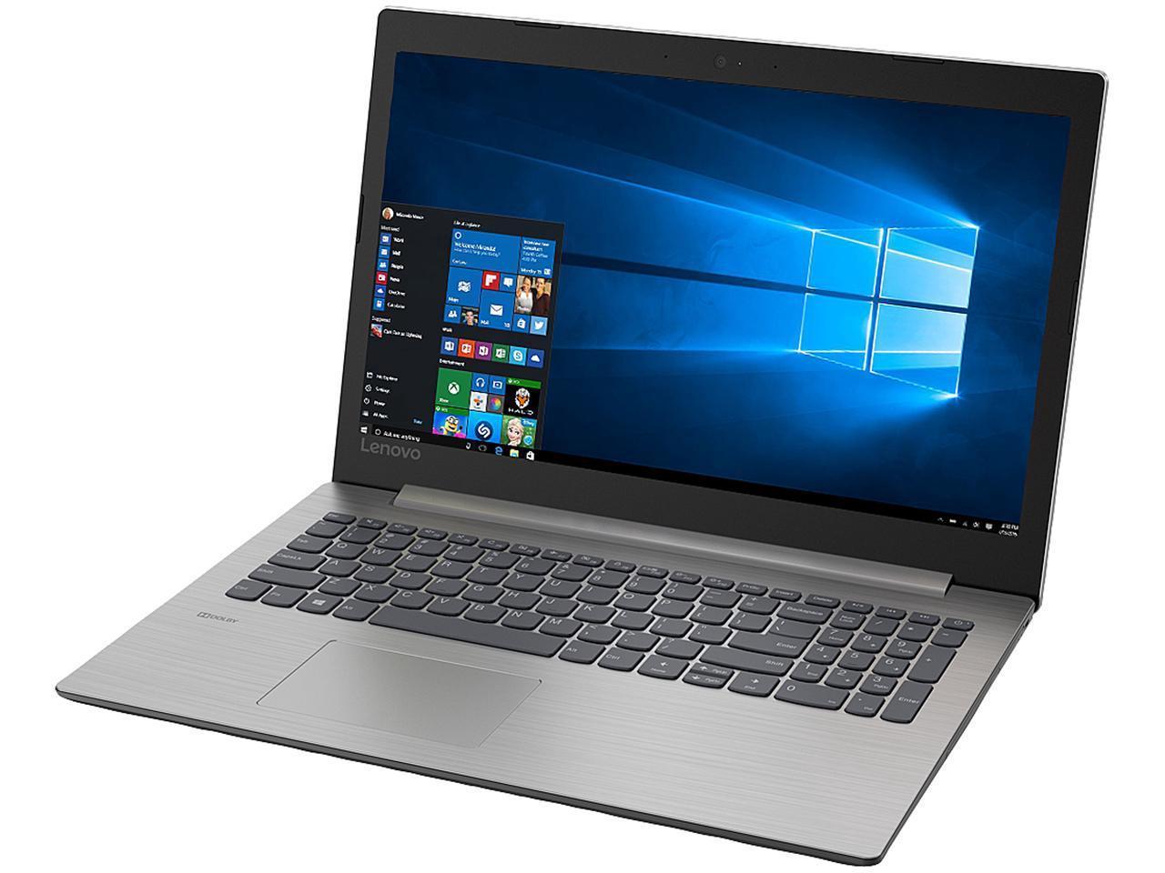 "Lenovo Laptop IdeaPad 330 81D2005CUS AMD Ryzen 5 2500U (2.00 GHz) 8 GB Memory 256 GB SSD AMD Radeon Vega 8 15.6"" Windows 10 Home 64-Bit - $479.99"