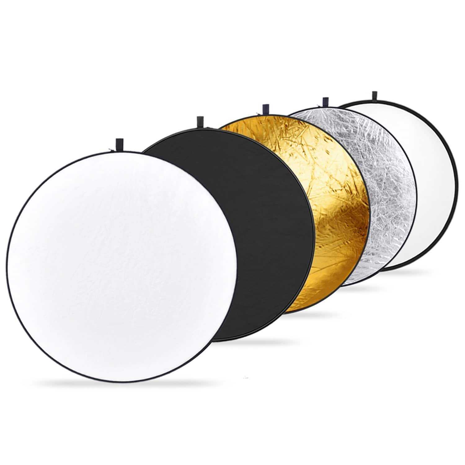 """Neewer 43"""" 5-in-1 Collapsible Multi-Disc Light Reflector - $14.99"""