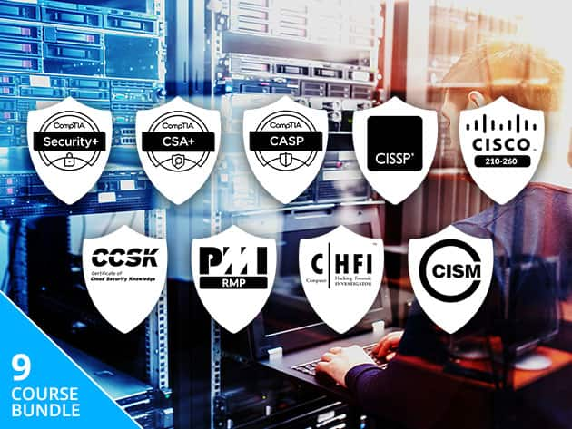 The Complete Cyber Security Certification Bundle - Lifetime Access $19.88