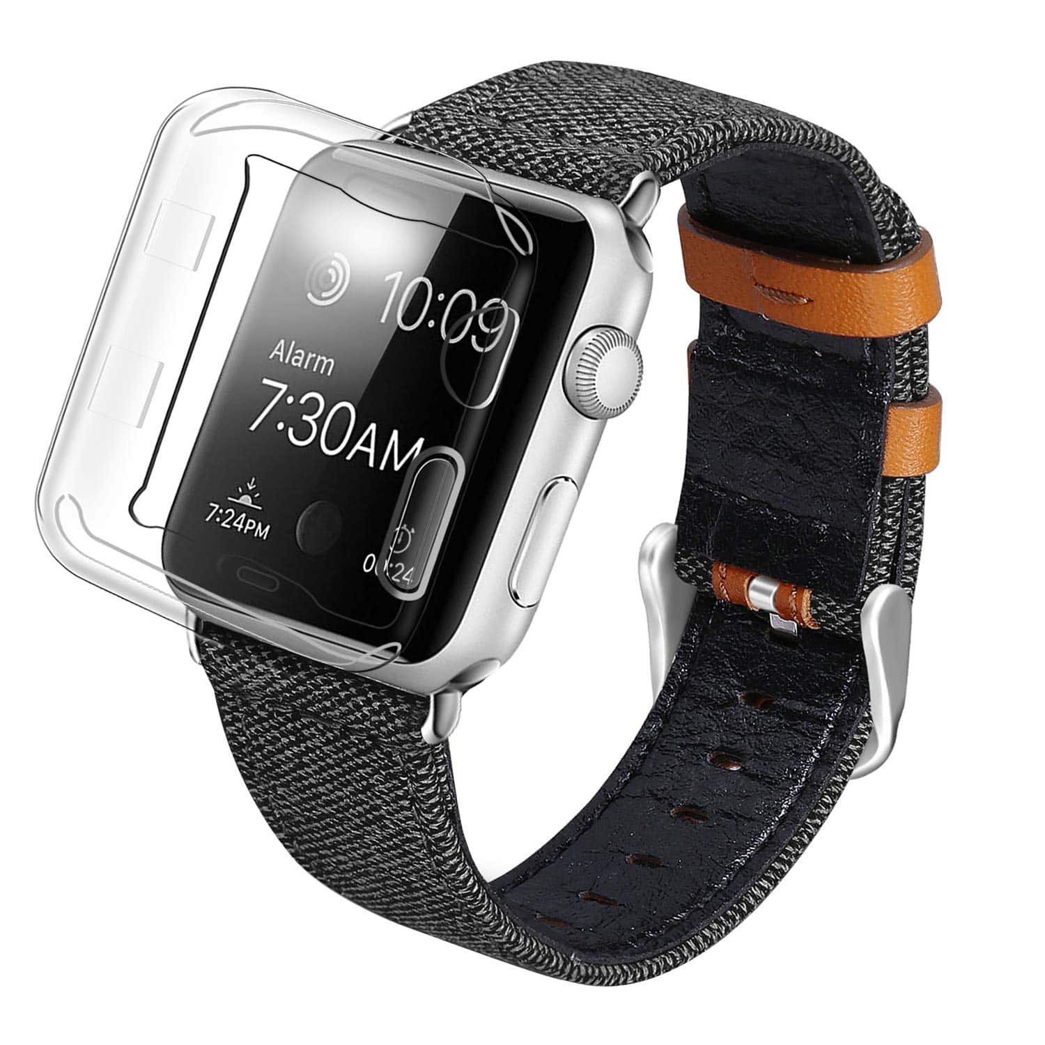SKYLET 42MM 44MM Apple Watch Leather Band - $5.59 + FS