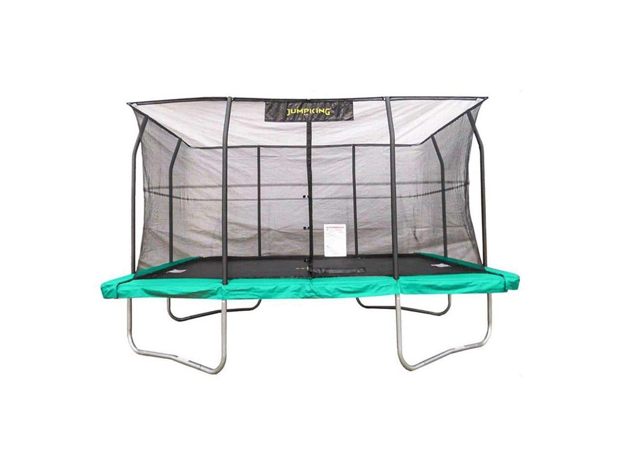 JumpKing 10 x 14 Rectangular Trampoline with Safety Net Siding - $399.99 - Free 2 Day Shipping