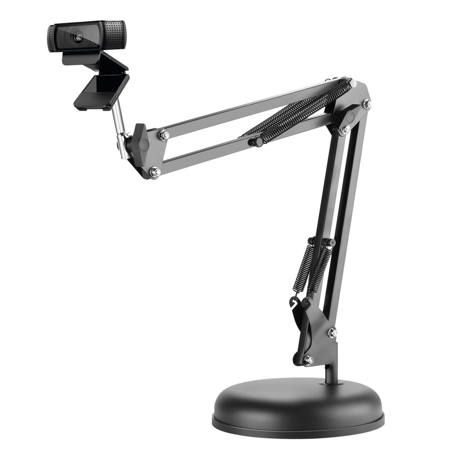 Neewer Adjustable Webcam Stand with base for Logitech - $11.99