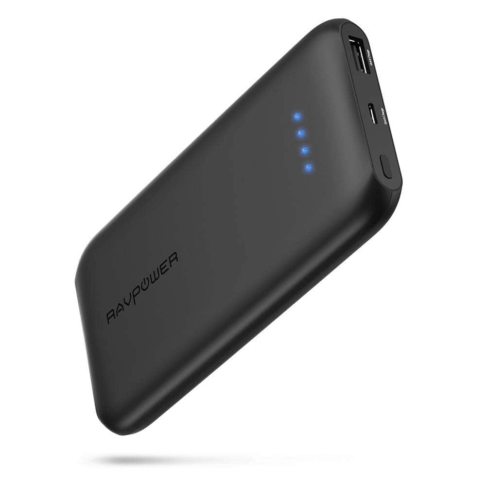 RAVPower Quick Charge 3.0 10000mAh Portable Charger $17.99