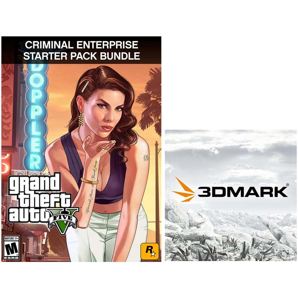 Grand Theft Auto V: Premium Online Edition with 3DMark