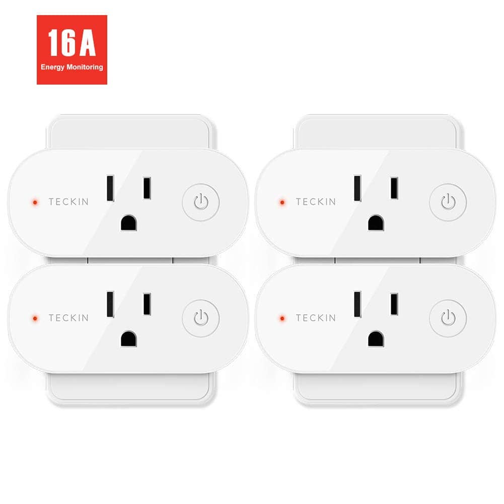 4-Pack Teckin 16 Amp WiFi Smart Plugs - Page 4 - Slickdeals net