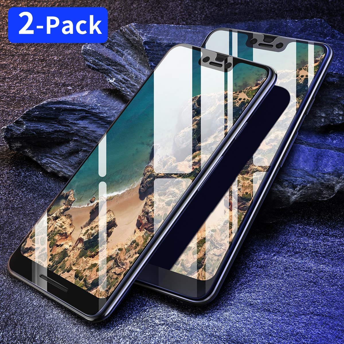 sale retailer 0bda7 dae5f Ainope Cases & Tempered Glass Screen Protector for Google pixel 3 ...