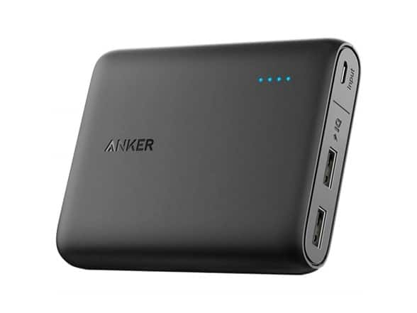 Anker Powercore 10400mAH Portable Charger $23.99