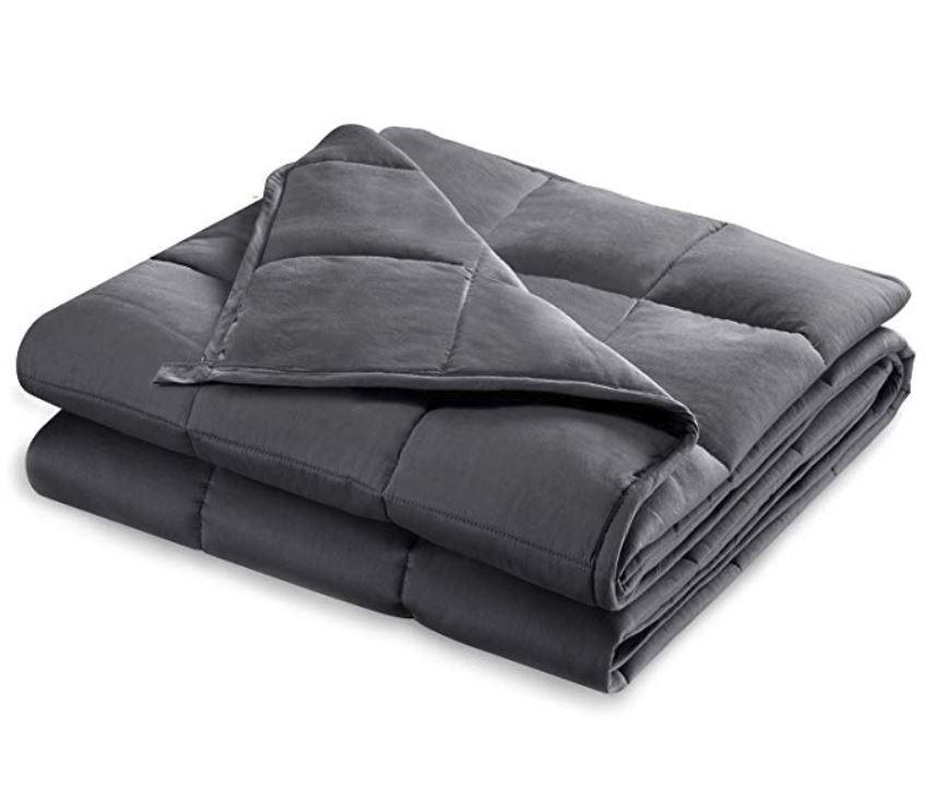 "Buzio 20 lbs Weighted Blanket 58"" x 78"" - $49.27"