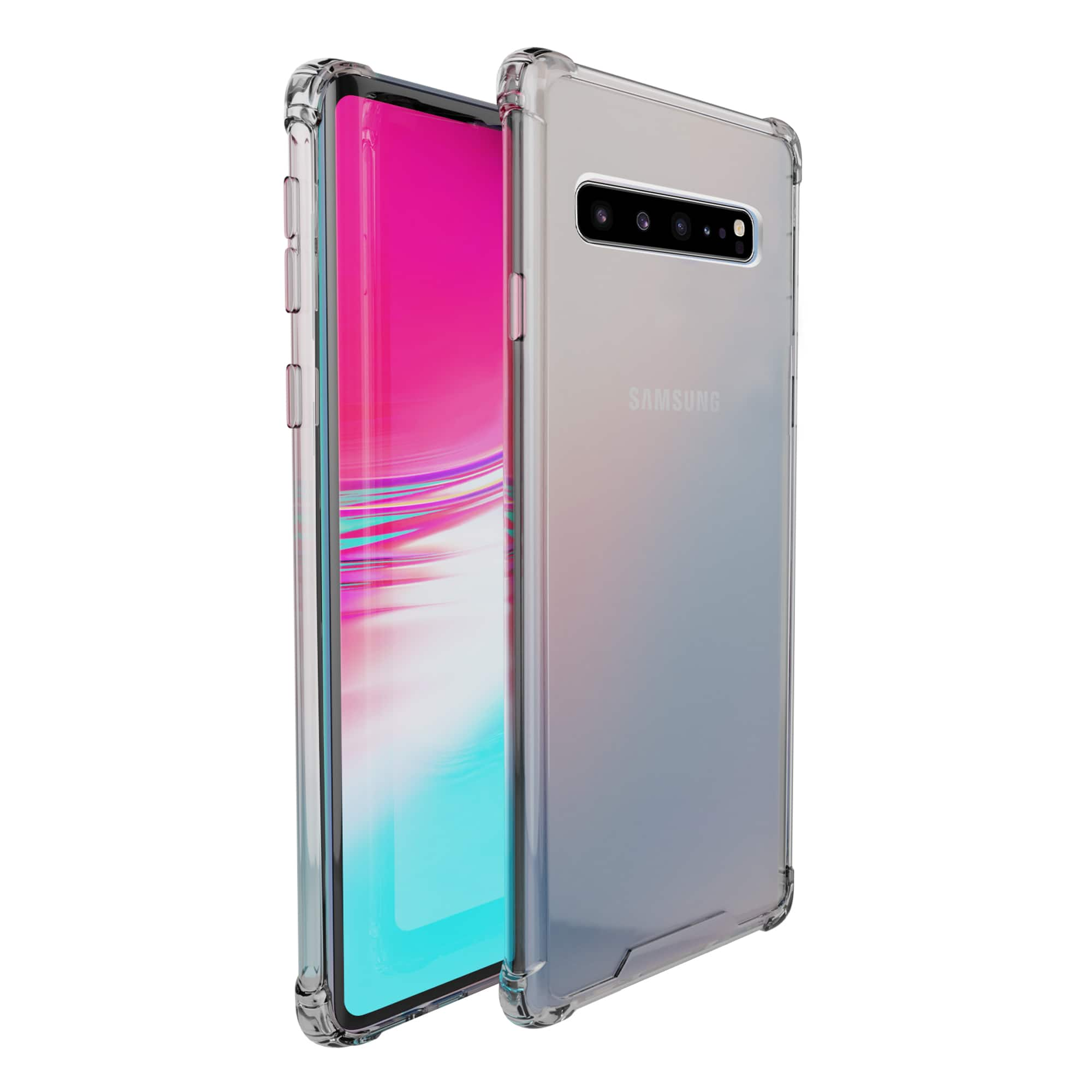 amCase Clear Bumper Cases for Samsung Galaxy S10 5G (and other) cases for $3.92 with Prime Shipping