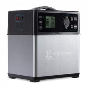MAKOM 400Wh Power Source Supply Generator Lithium Ion Charged by Solar Panel for $279.99 + Free Shipping