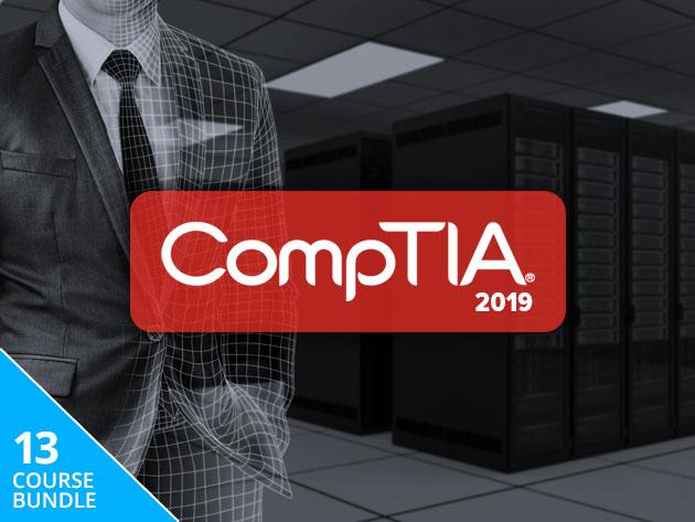 The Complete 2019 CompTIA Certification Training Bundle: Lifetime Access $27.60