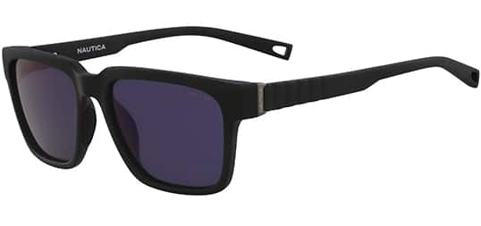 Nautica Polarized Matte Square w/ Mirror Lens Sunglasses $26 + Free Shipping