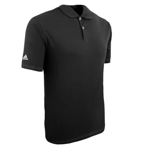 adidas Men's ClimaLite Contrast Stitch Polo Shirt for $14