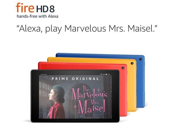 "Amazon Fire HD 8 32 GB (2018) Tablet, 8"" HD  (Used - Good) - $59.99"