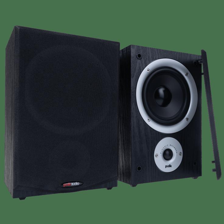 "Polk Audio R150 5.25"" Bookshelf Speakers $39.00 + FS"