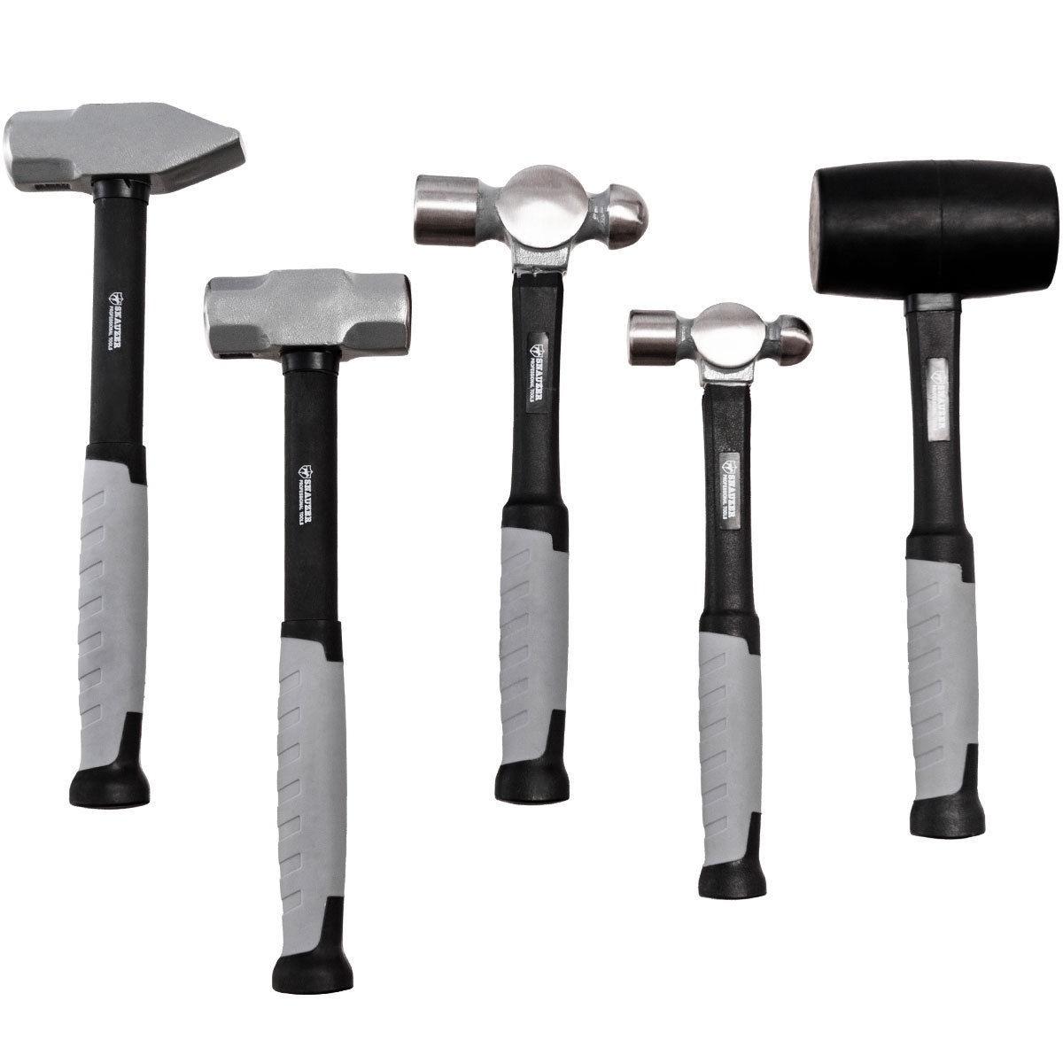 Costway 5 Piece Professional Blacksmith Propane Forge Hammer Set - $39.95 + Free Shipping
