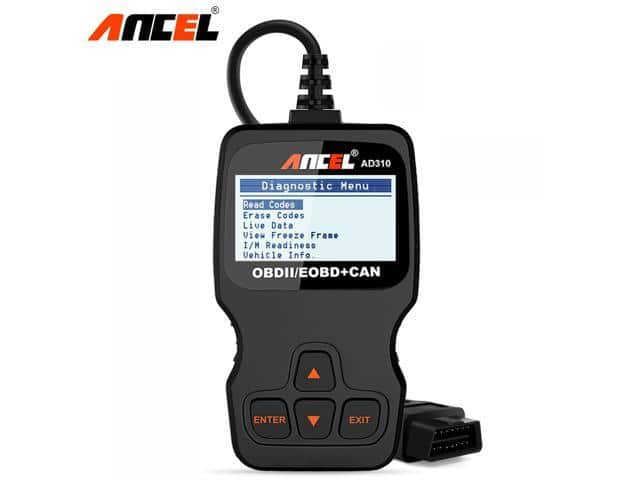 Ancel AD310 OBD2 Diagnostic Tool Check Engine Code Reader $25.99 + Free Shipping
