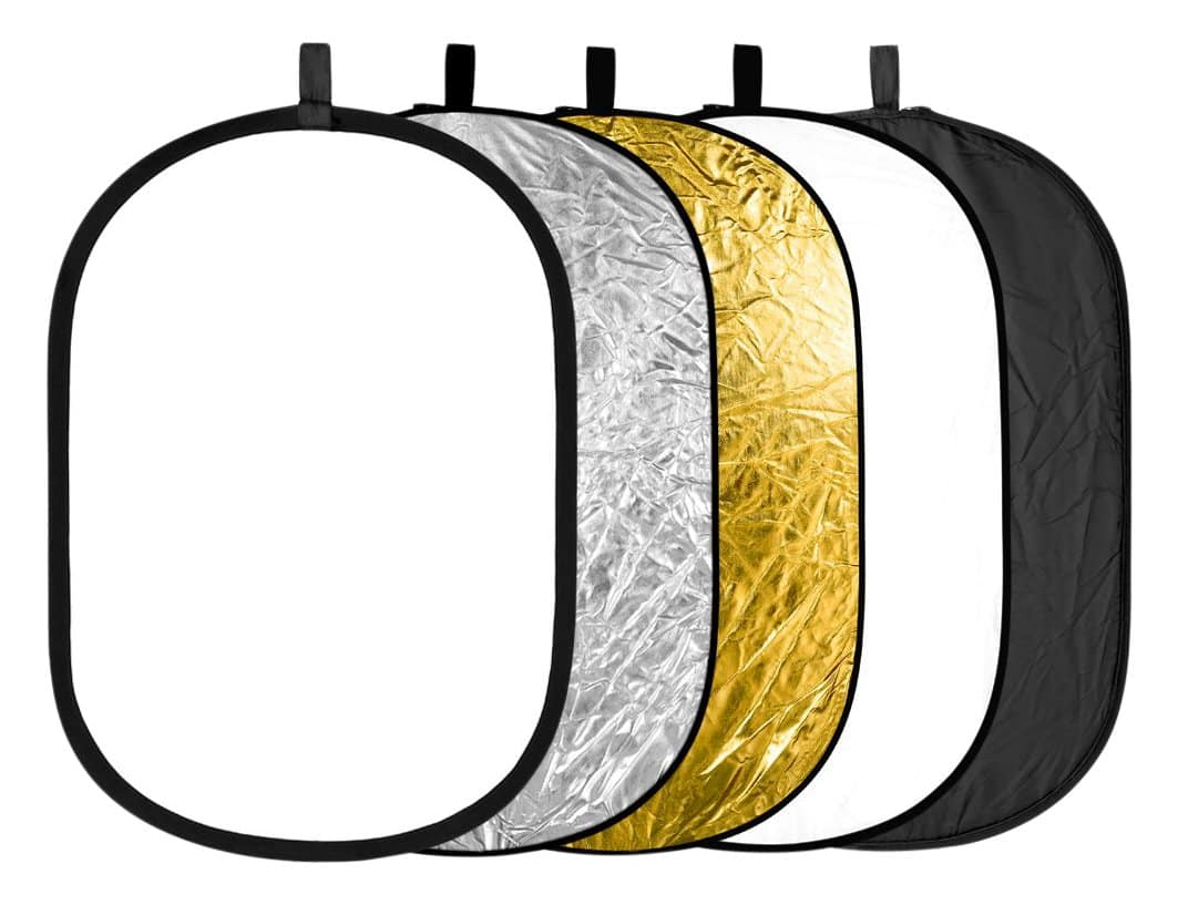 """Neewer 5-in-1 24x36"""" Collapsible Lighting Reflector - $12.59"""