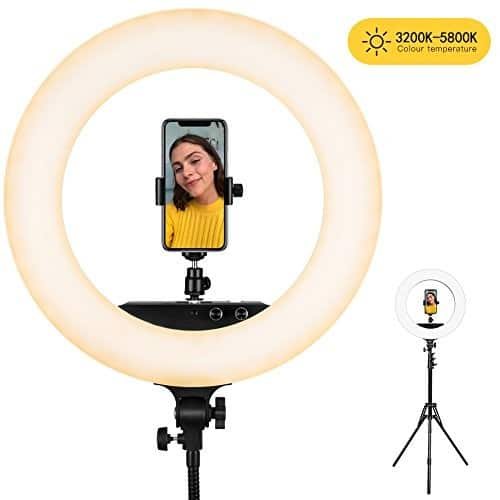 ESDDI 18 Inch Ring Light for $64.19 + Free Shipping