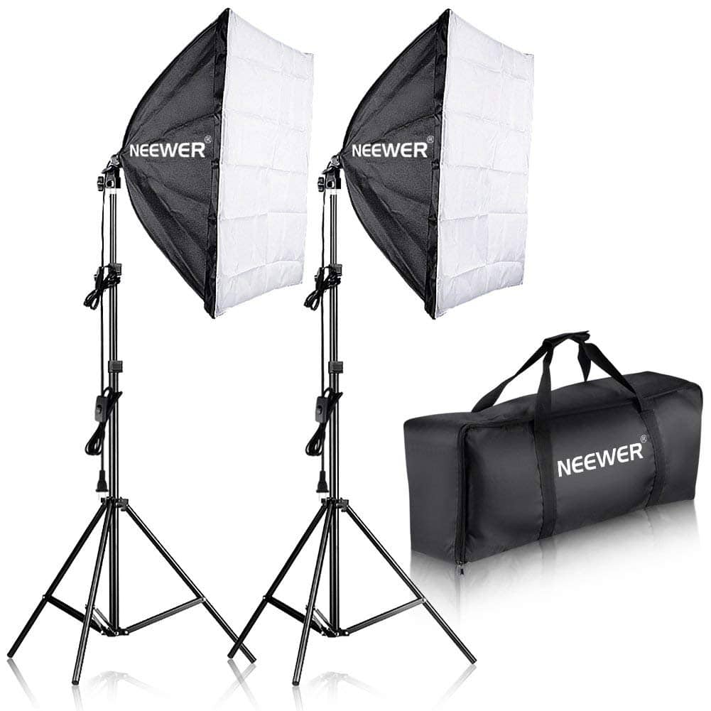 "Neewer 700W 24x24""/60x60cm Softbox Kit - $53.29 + Free Shipping"
