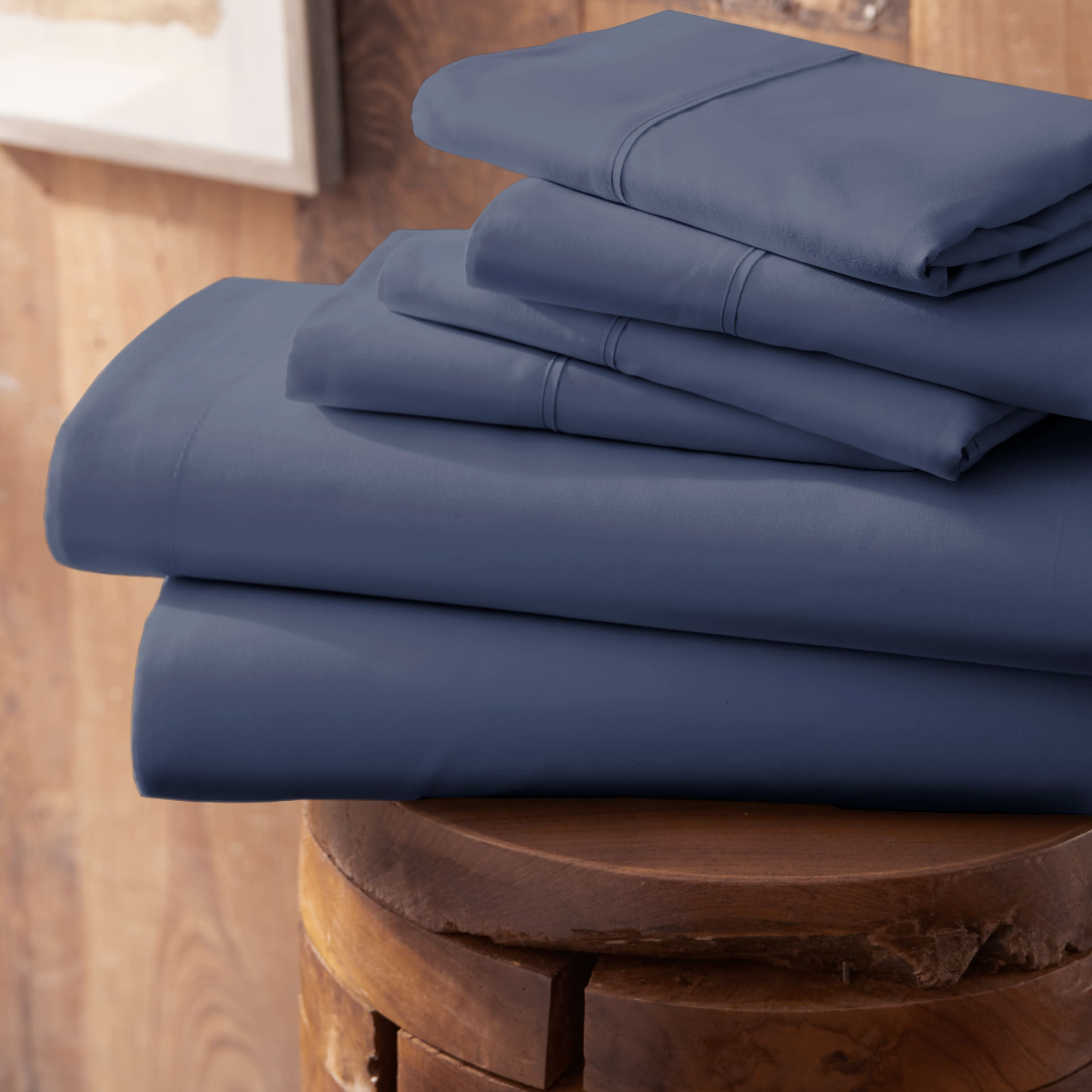 Linens and Hutch 6PC Solid Sheet Set Starting at $22.68