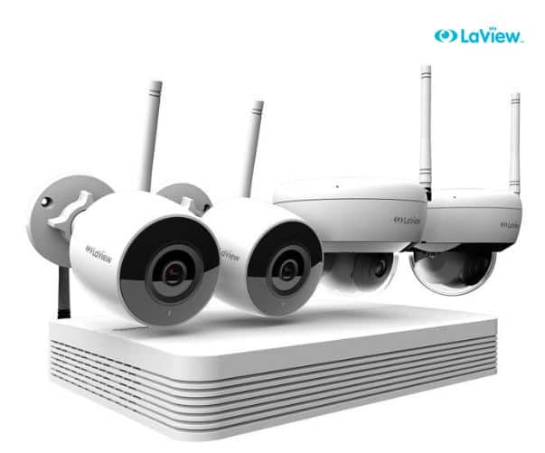 Laview 4 Wi-Fi Wireless Cameras System with 1TB HDD $249.99 + FS