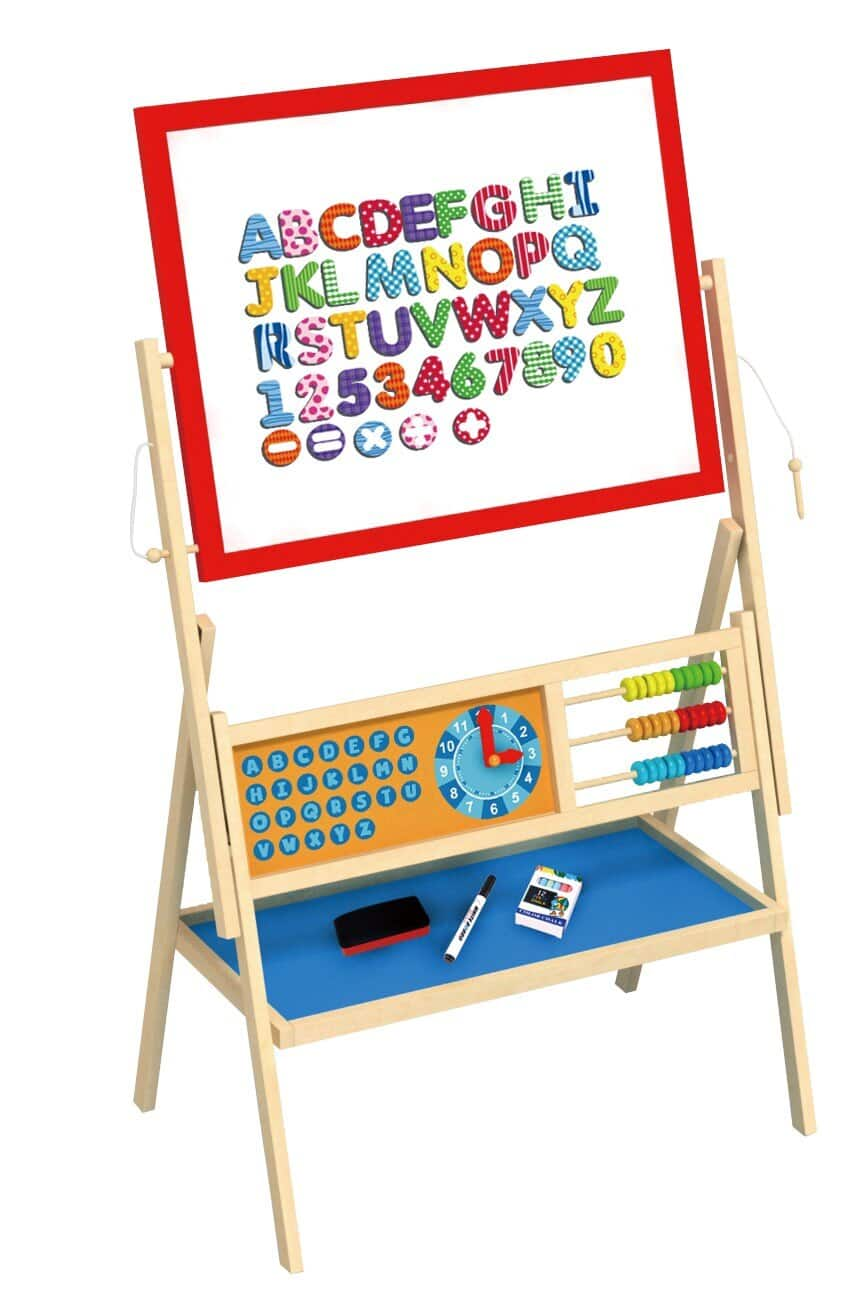 Toyster's Creative Wooden Art Easel for Toddlers :  $49.99 AC + FS