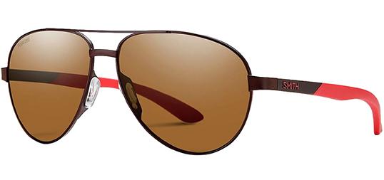Smith Optics Salute Polarized Stainless Aviator Sunglasses $33 + Free Shipping