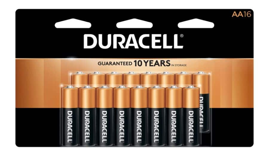 16-Ct Duracell Coppertop AA Batteries : $8.99 AC + FS