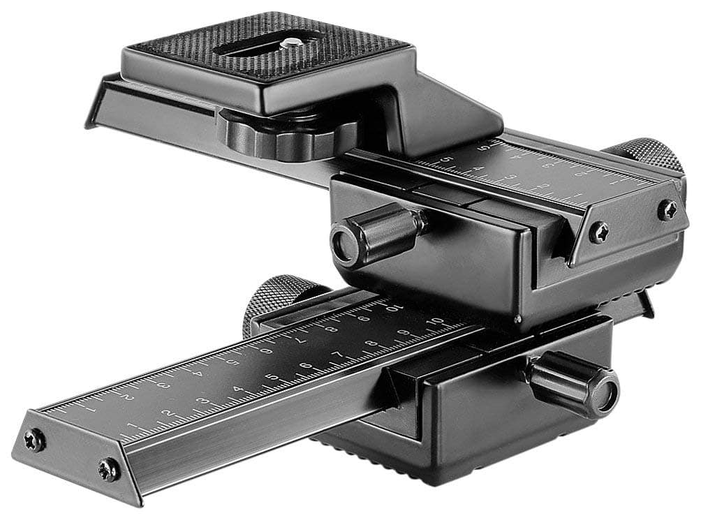 Neewer Pro 4-Way Macro Focusing Focus Rail Slider - $23.99 + Free Shipping