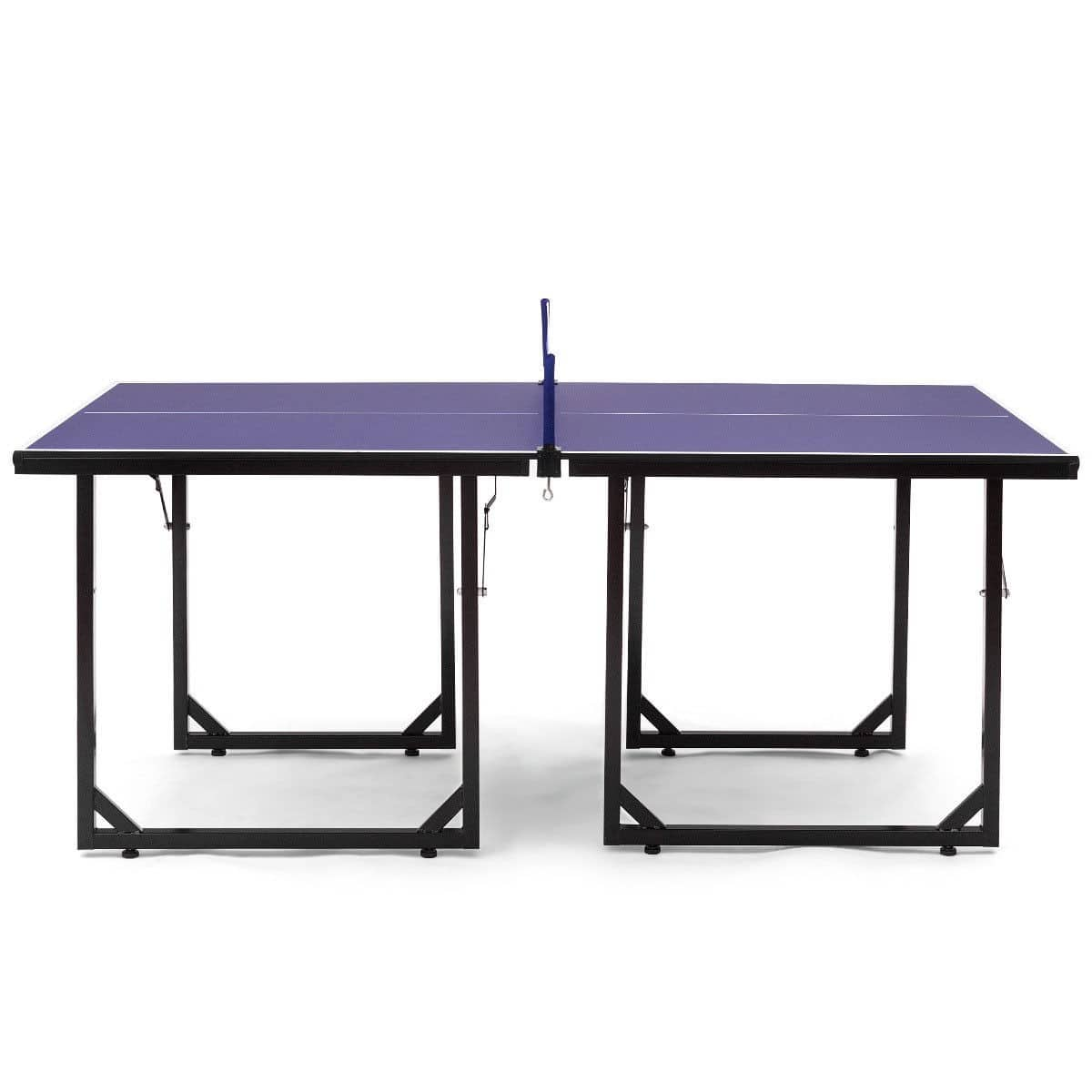 Multi-Use Foldable Midsize Removable Compact Ping-pong Table  - $125.95 + Free Shipping