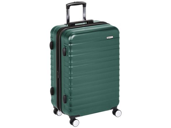 AmazonBasics Hardside 24 inchSpinner Luggage - $36.99